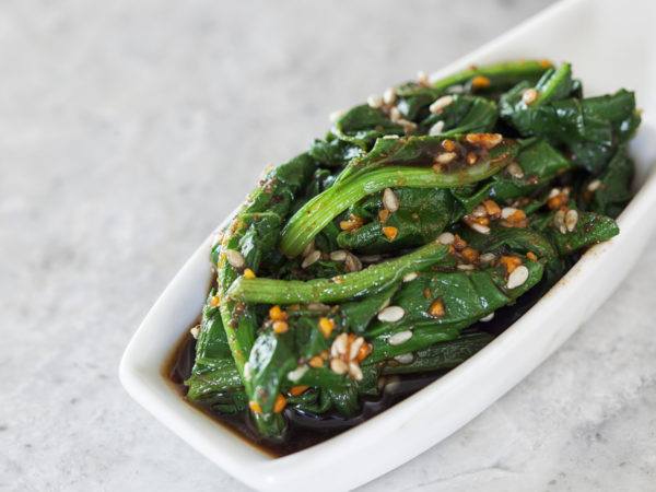 Spinach Goma Ae | Recipes | Dr. Weil's Healthy Kitchen