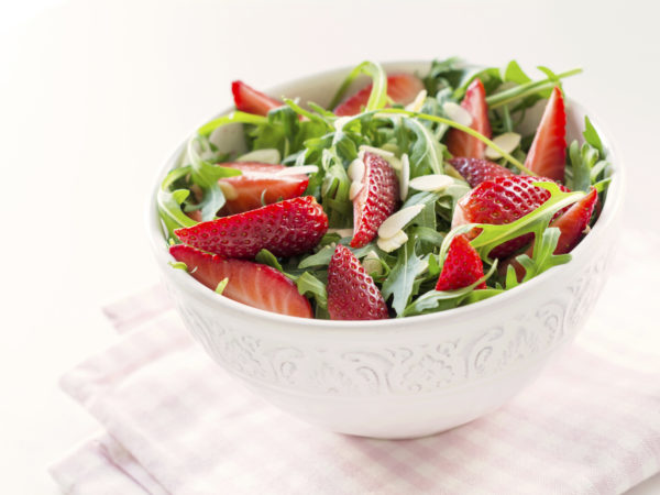 Strawberry, Fennel, & Arugula Salad | Recipes | Dr. Weil's Healthy Kitchen