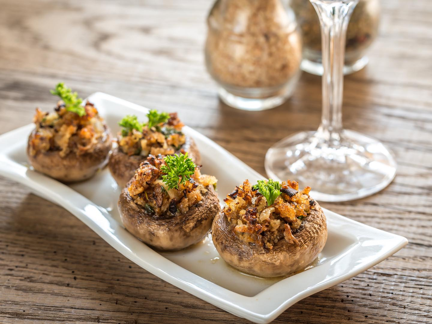 Stuffed Mushroom Caps with Couscous - Dr. Weil's Healthy ...
