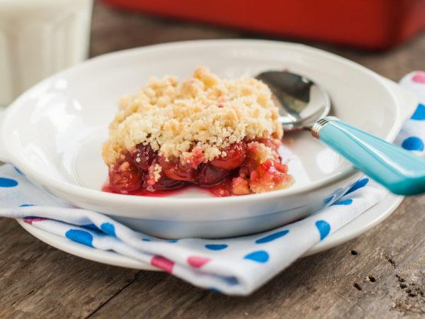 Tart Cherry-Apple Crunch | Recipes | Dr. Weil Healthy Kitchen