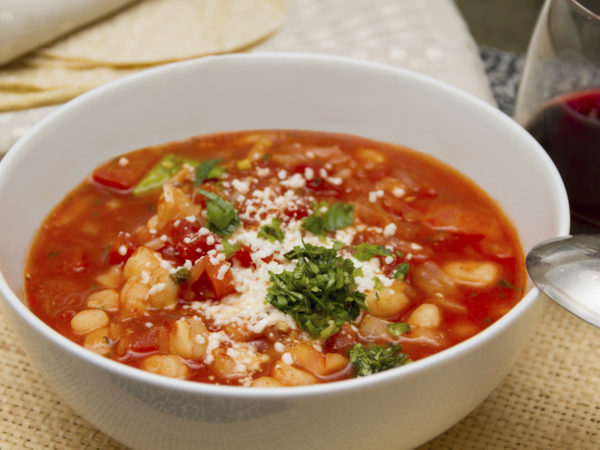 Tomato, Corn & Basil Soup | Recipes | Dr. Weil's Healthy Kitchen