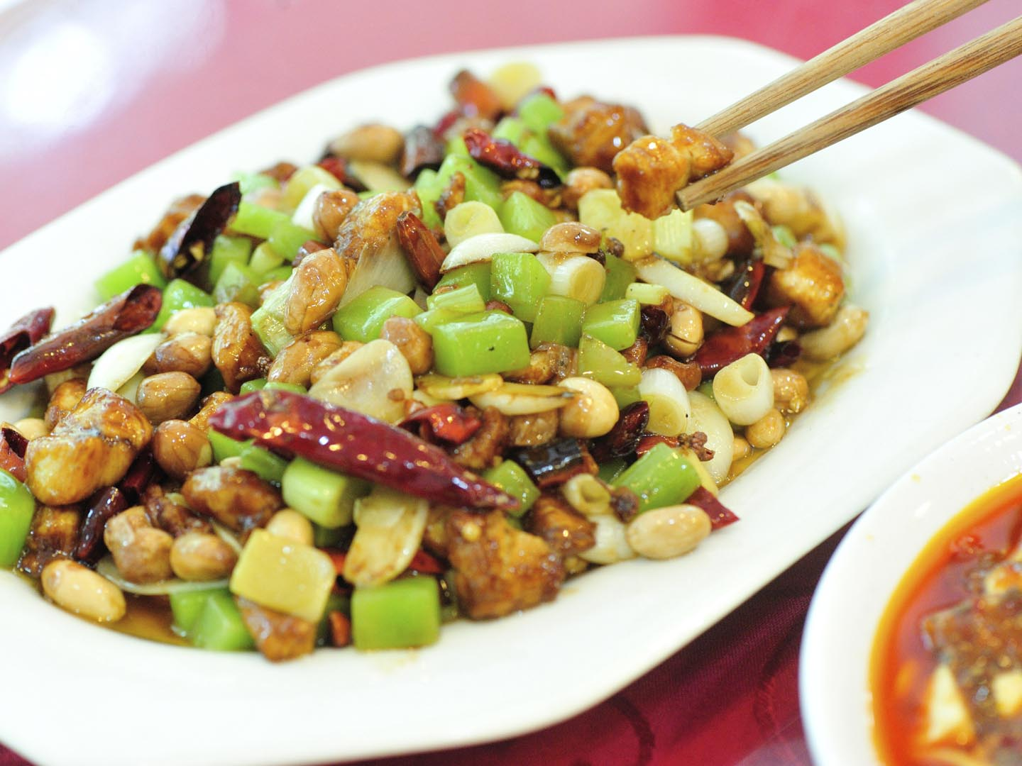 Vegetarian Kung Pao - Dr. Weil's Healthy Kitchen