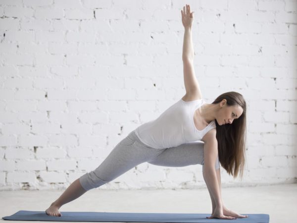 Extended Side Angle Pose | Exercise & Fitness | Andrew Weil, M.D.