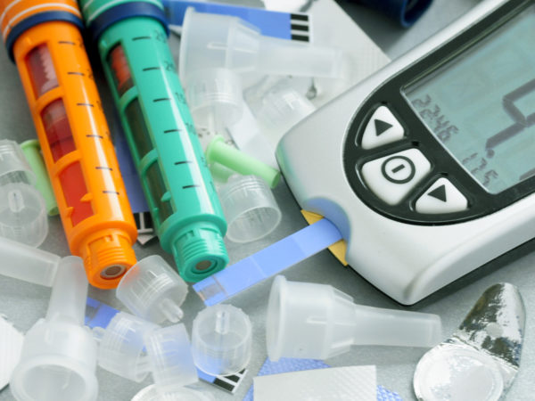 Daily implements of diabetes care