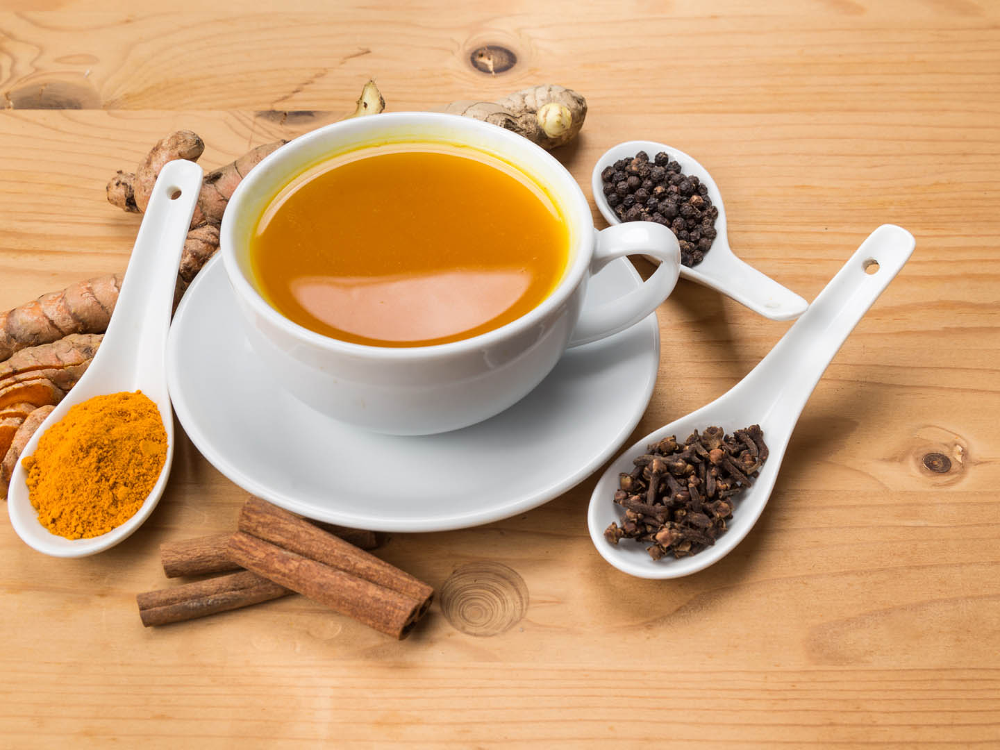Turmeric Tea Health Benefits - Turmeric Tea Recipe | Dr. Weil