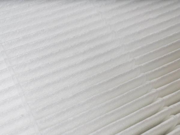 Detailed shot of air filter.