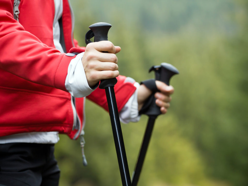 Bone & Joint Health Tip: The Benefits of Walking Sticks ...