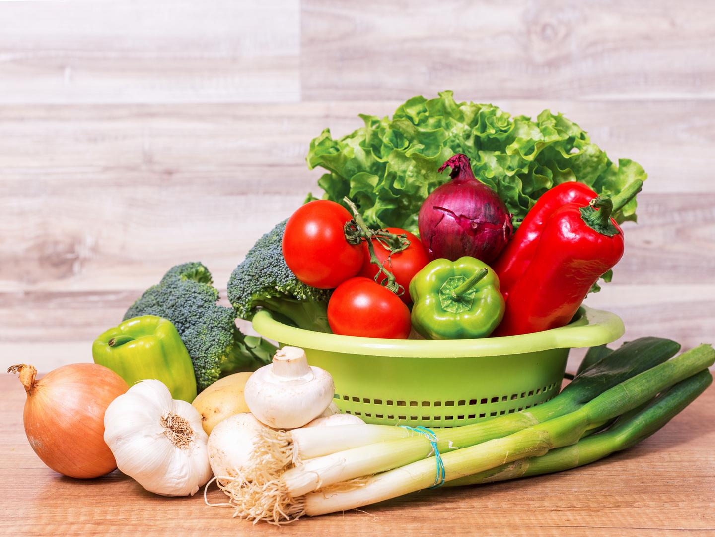 Строго овощная диета