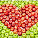 Heart of apples