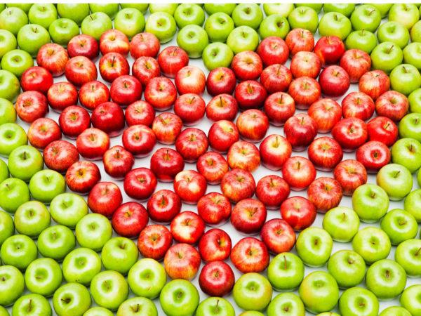 Heart of apples