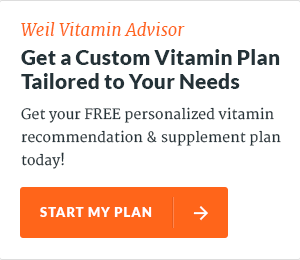 Custom Vitamin Plan - Weil Vitamin Advisor