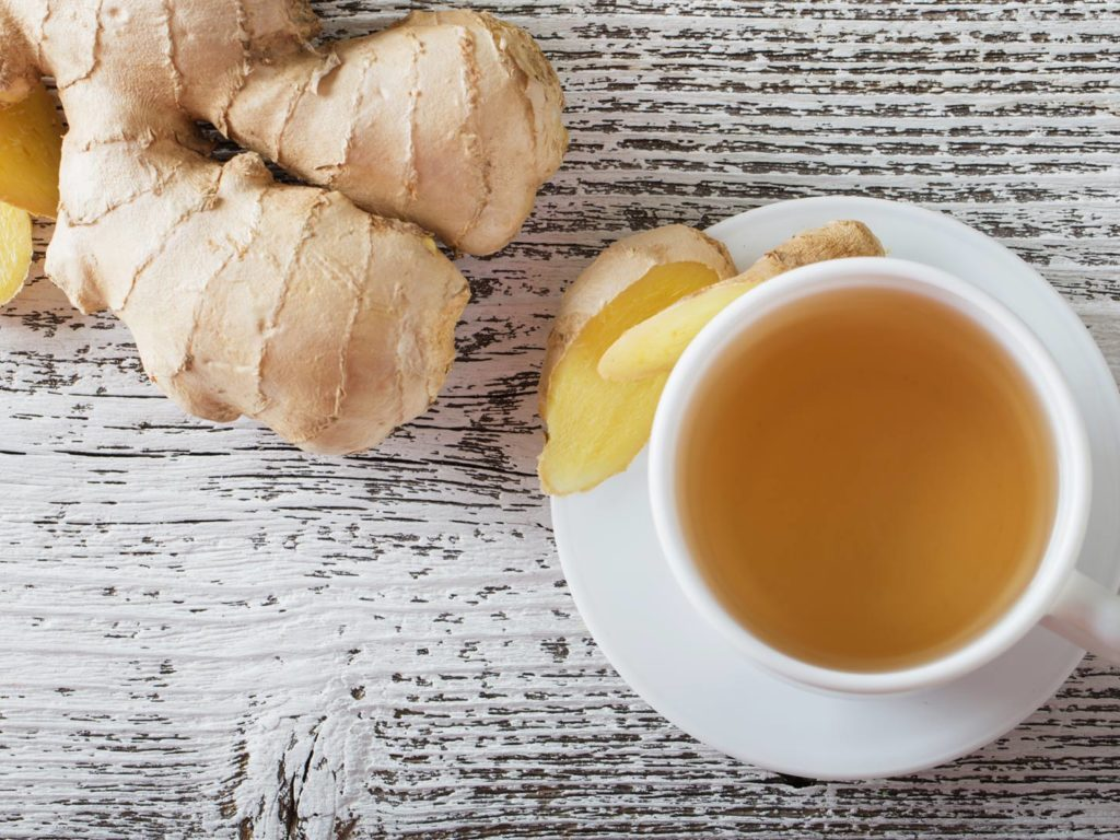 An Easy Ginger Tea Recipe pictures