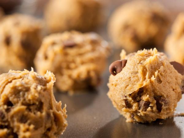 careful about cookie dough