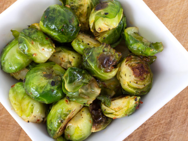 Hearty Holiday Side Suggestion-Hashed Brussels Sprouts