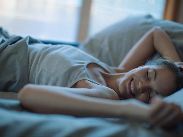 grateful for better sleep