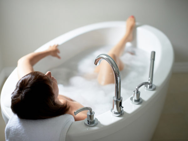 hot bath better exercise