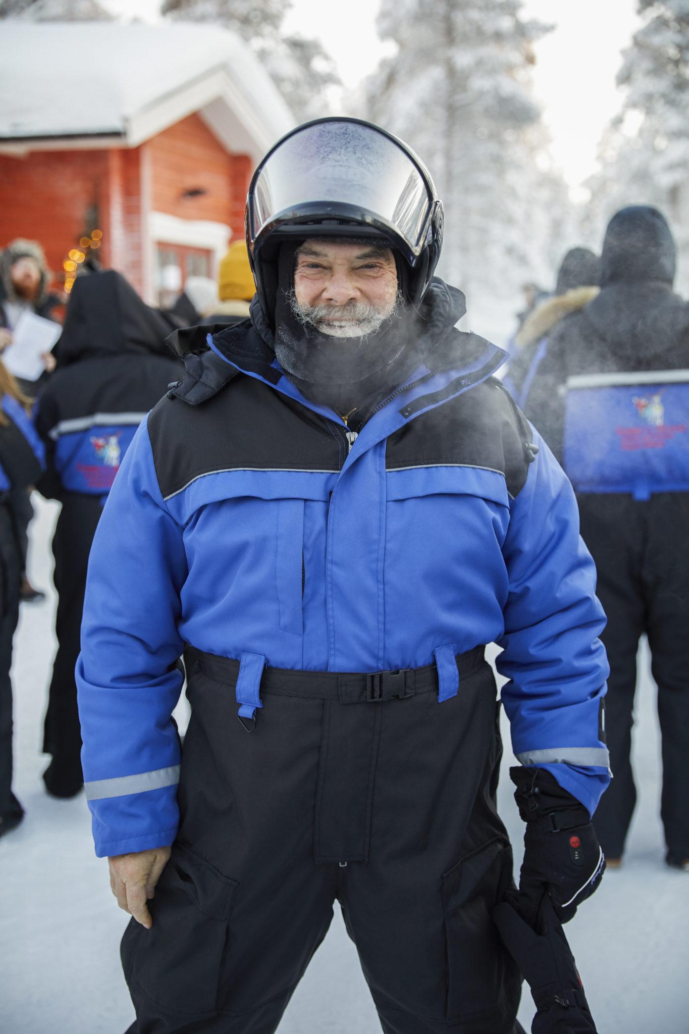 Dr. Weil in Lapland