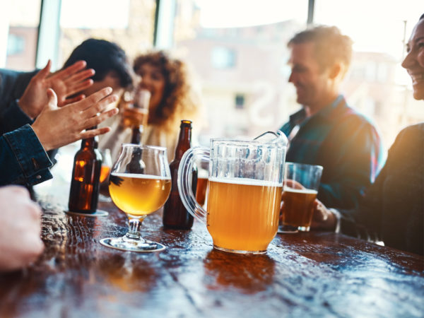 how much alcohol is safe