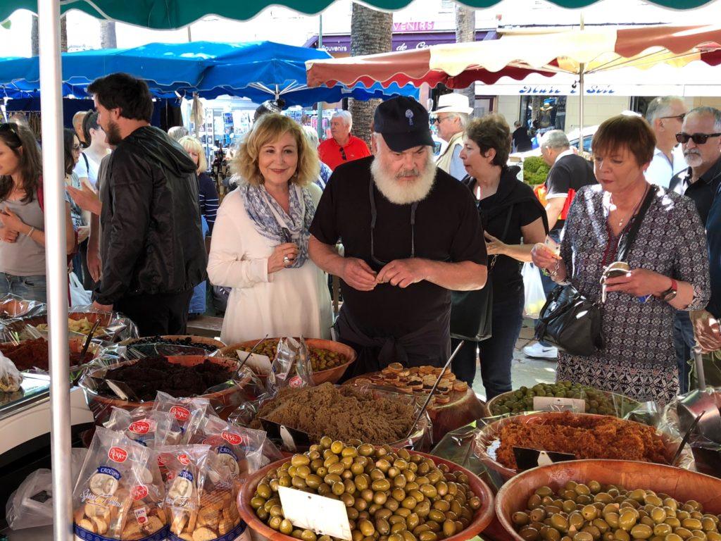 Local market in Corsica