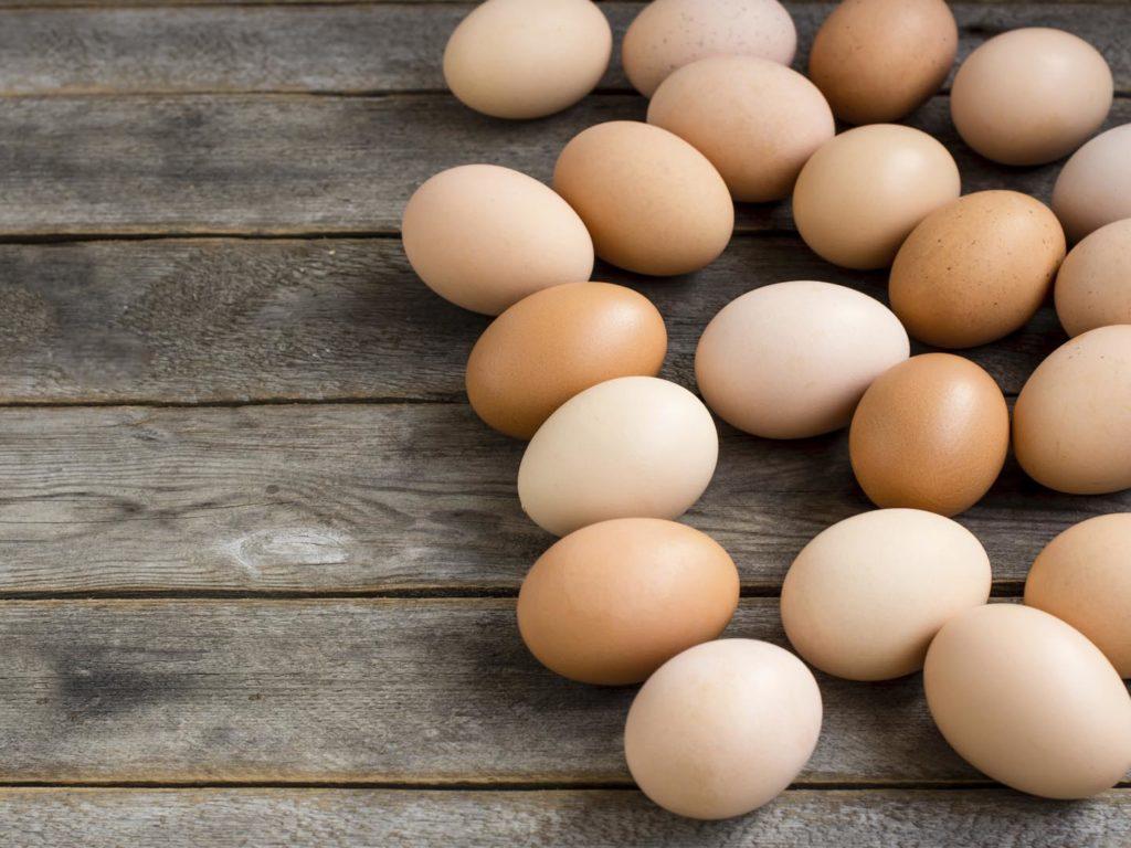 Vitamin B5 - Eggs