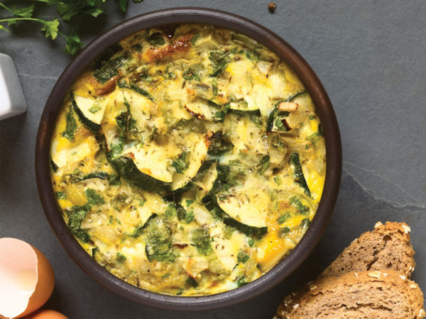 Vegetable Frittata With Feta & Dill | Recipes | Dr. Weil's Healthy Kitchen