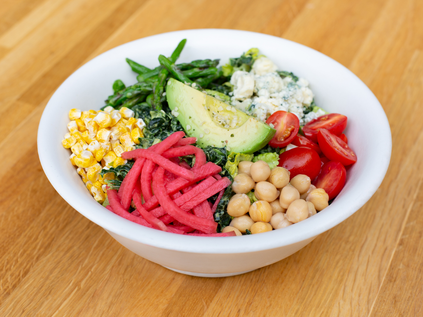 Good Earth Kale Cobb | Recipes | Dr. Weil's Healthy Kitchen