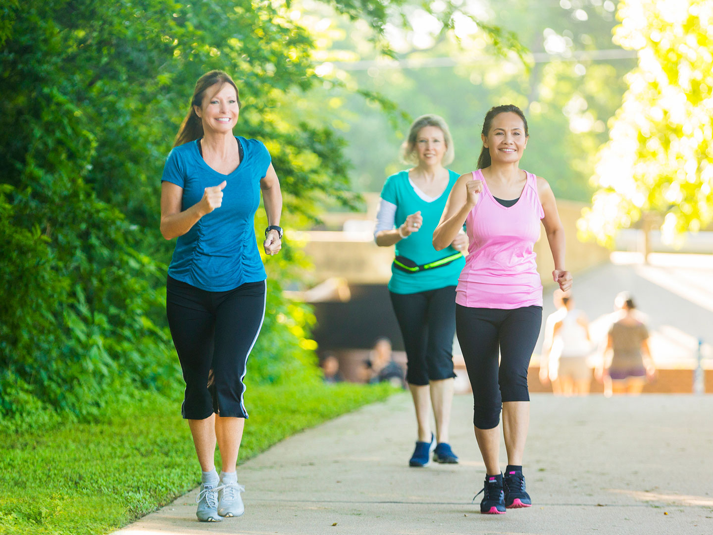 Питание и ходьба для похудения