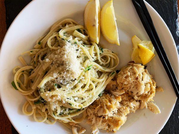 Wild Ramps Pesto On Spaghetti | Recipes | Dr. Weil's Healthy Kitchen