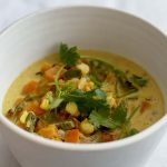 Sweet Potato Poblano Soup | Recipes | Dr. Weil's Health Kitchen