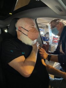 Andrew Weil, M.D. Receives The Pfizer COVID-19 Vaccine